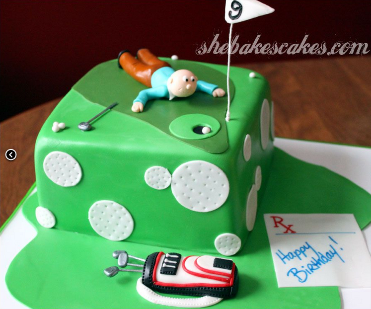 Cake Images Golf : GOLF GIRL S DIARY: Top 10 Golf Cakes - Creative ...