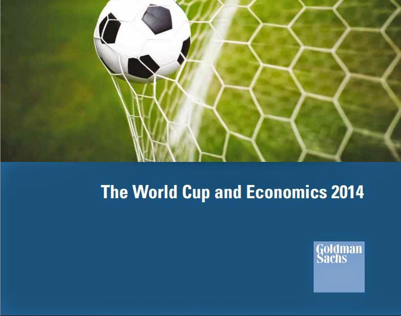 Report di Goldman Sachs sui Mondiali 2014.