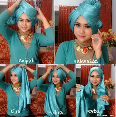 Tutorial Hijab Turban Modern Terbaru 2016