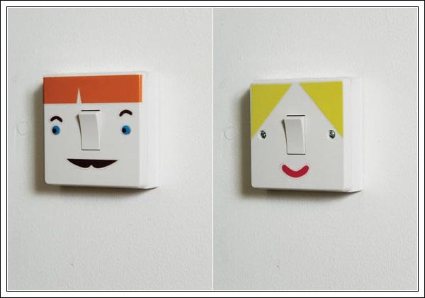 Decore decorar e personalizar os interruptores de luz - Modelos de interruptores de luz ...