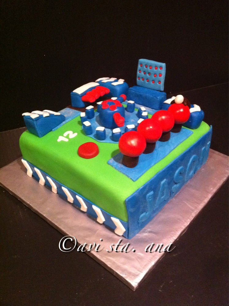 Cake Decorating Tv Show : A Lot of Sugar: Wipeout Cake