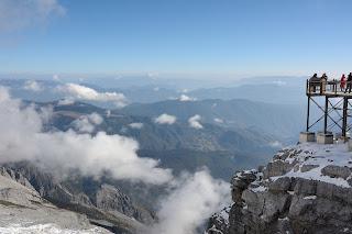 View from Jade Dragon Snow Mountain or 玉龙雪山 orYùlóngxuě Shān