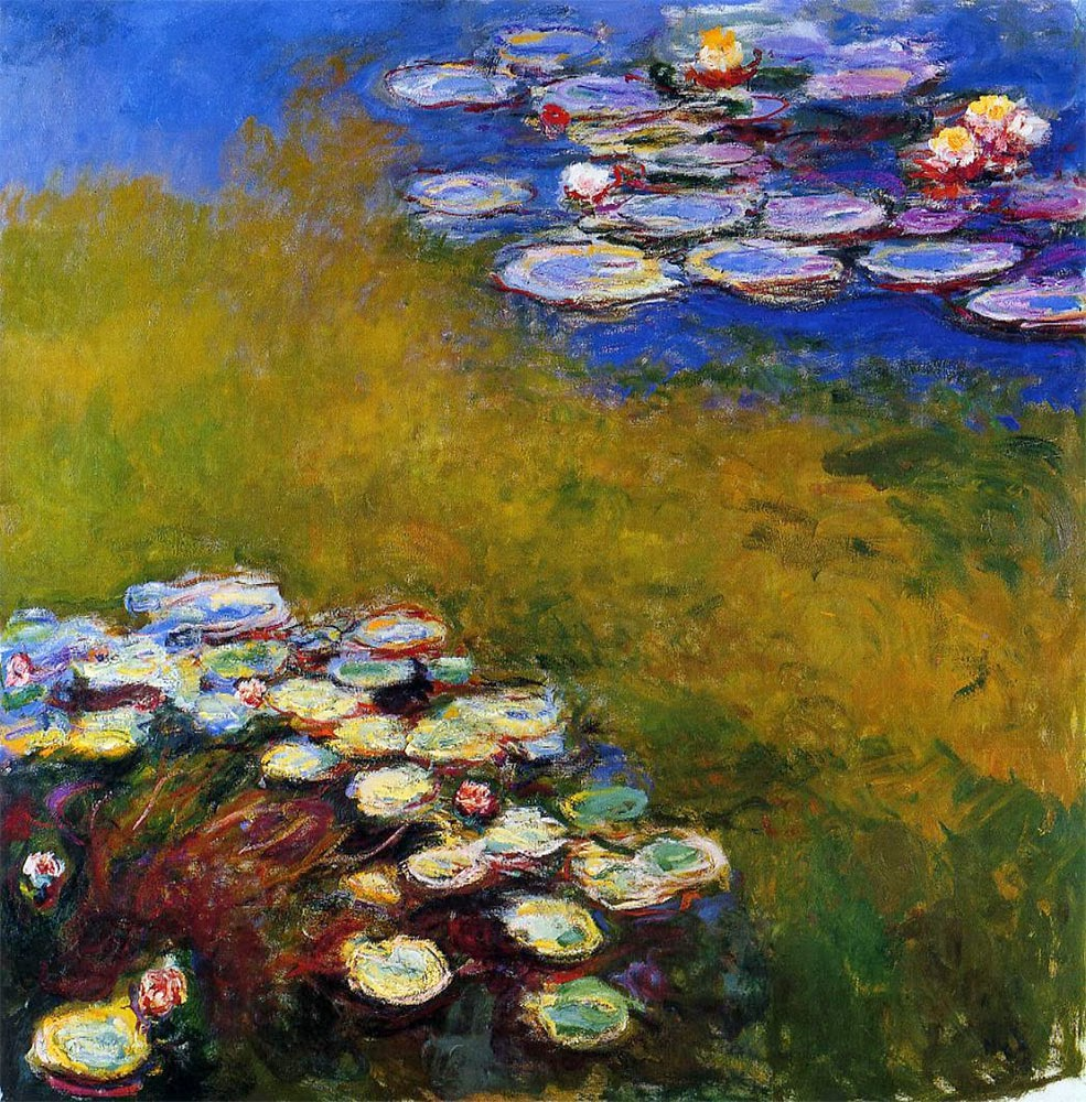 water lilies Water lilies, 1916 by claude monet impressionism flower painting.