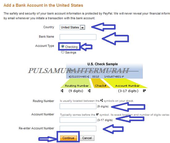Cara Menambahkan Rekening Bank Payoneer Ke Paypal 6