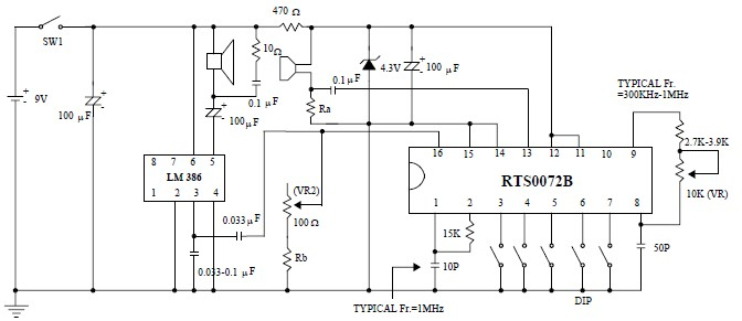 rts0072b voice changer circuit project with circuit and explanation rh alectronicscircuits blogspot com