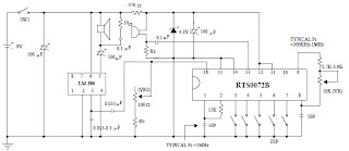 voice changer circuit diagram – comvt, Wiring circuit