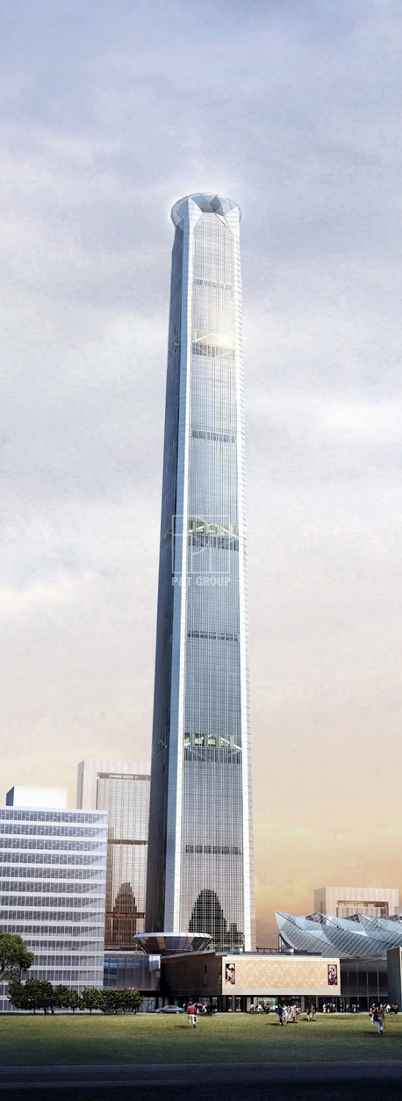 World Of Architecture Tianjin 117 Tower Goldin Finance