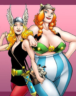 Asterix and Obelix female versions