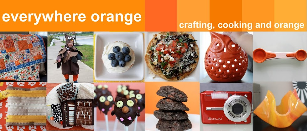 everywhere orange