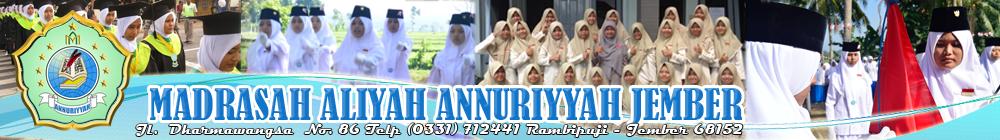Madrasah Aliyah Annuriyyah Rambipuji Jember