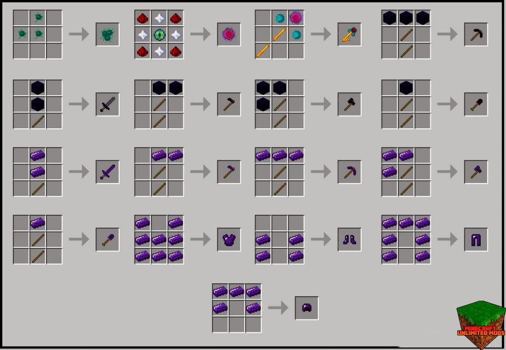 AbyssalCraft Mod crafteos