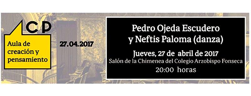 Jueves 27 de abril, en el Colegio Arzobispo Fonseca de Salamanca