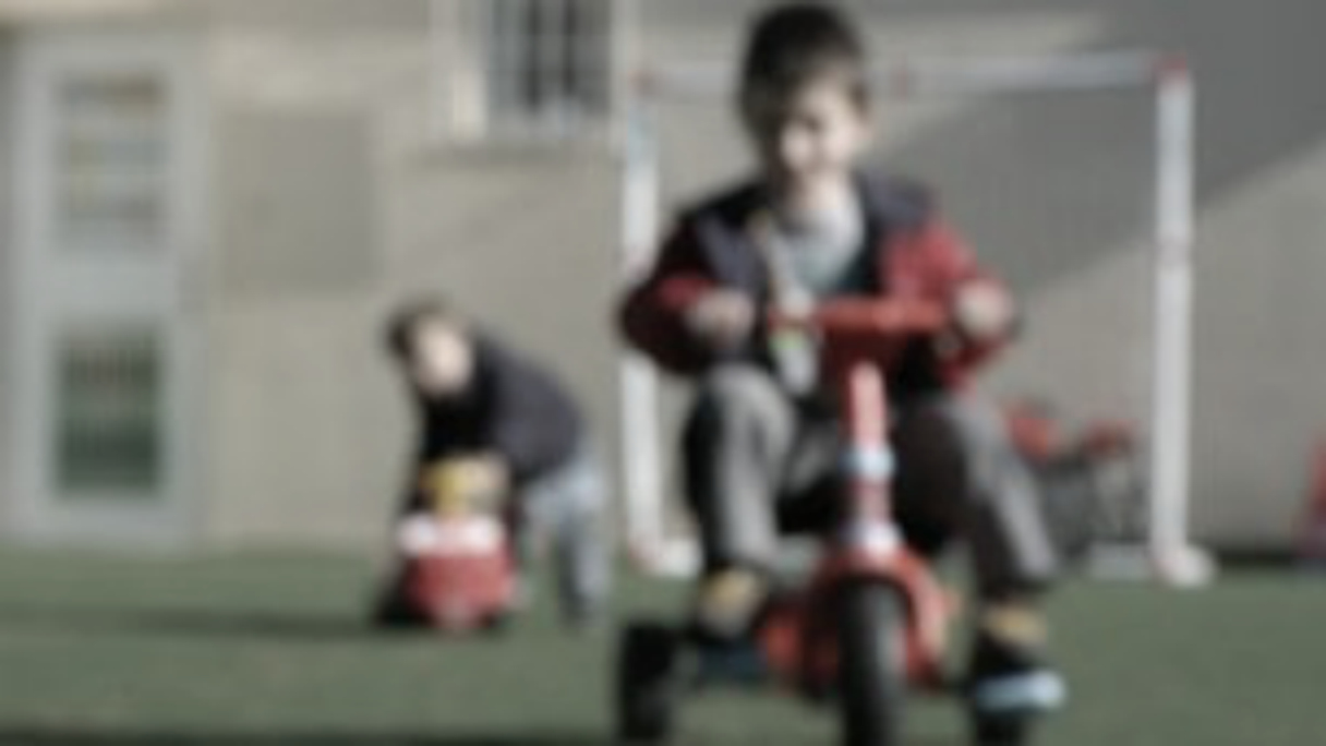 Children play at a centre in Greece caring for young people whose  parents are unable to cope