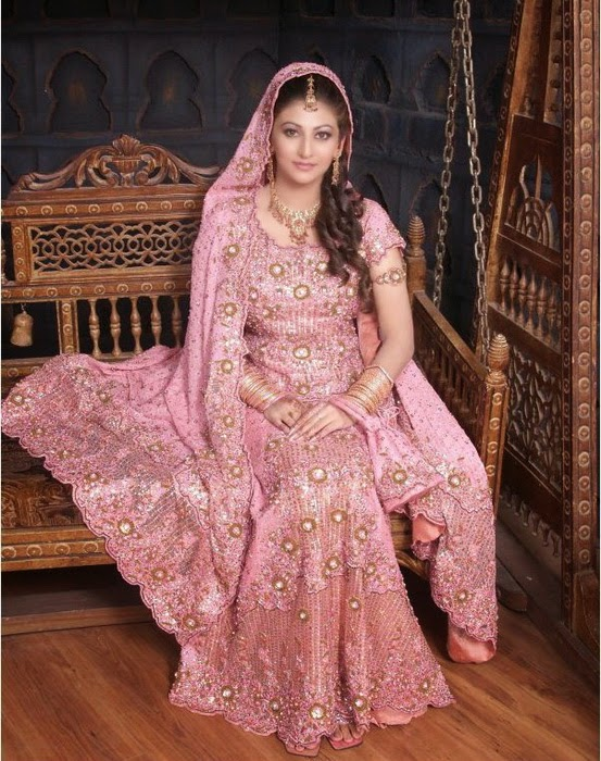 All The Asian Bridal Dresses Square Measure Same To Some Extent Or We Will Say Wedding Typically Of A Red Color