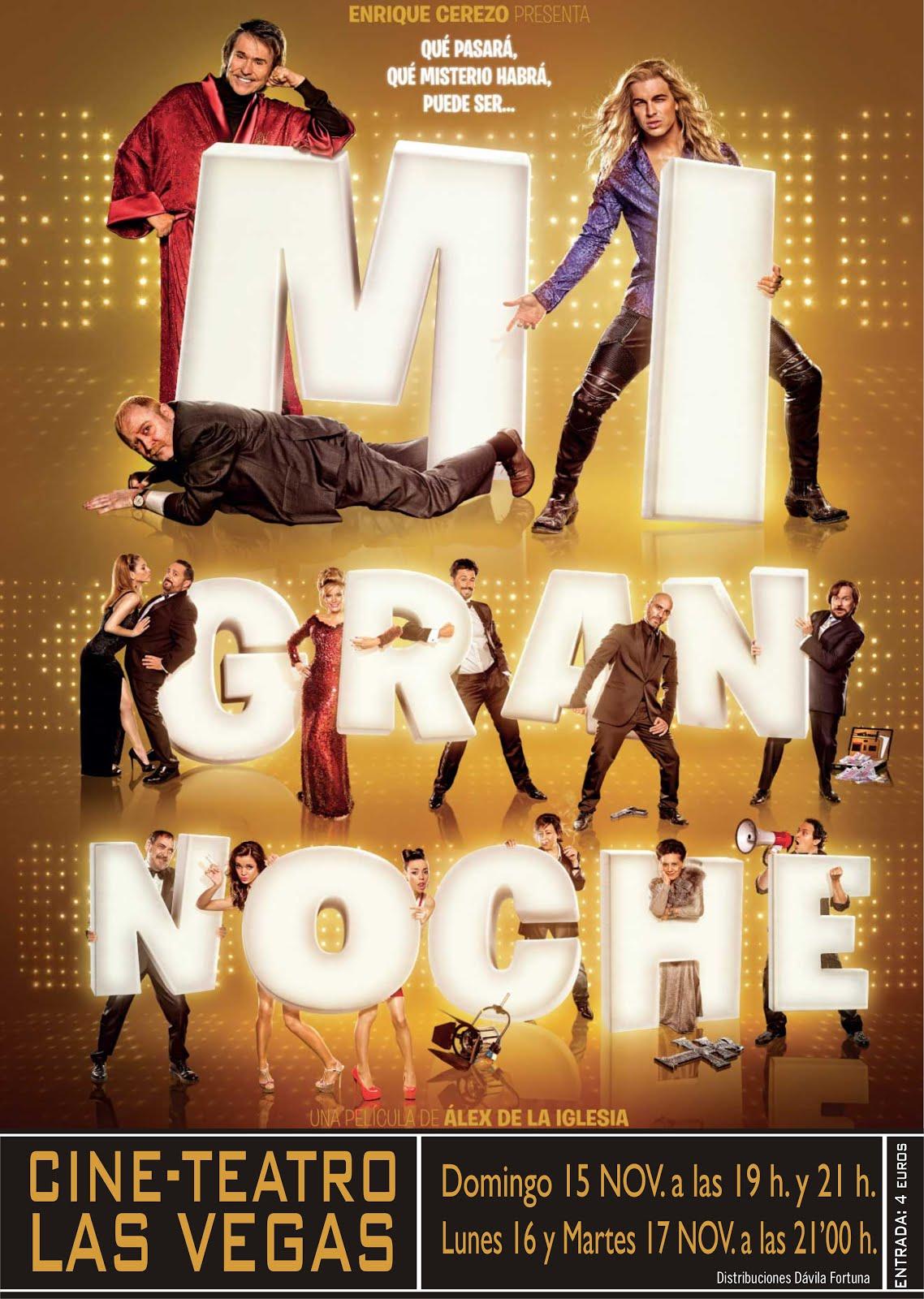 Cine: Mi Gran Noche