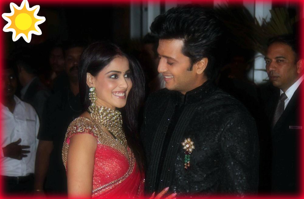 Celebrity News Riteish Deshmukh And Genelia Dsouza Wedding