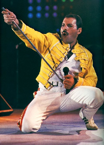 "Chatter Busy: Freddie Mercury Performs Live At The ""We ..."