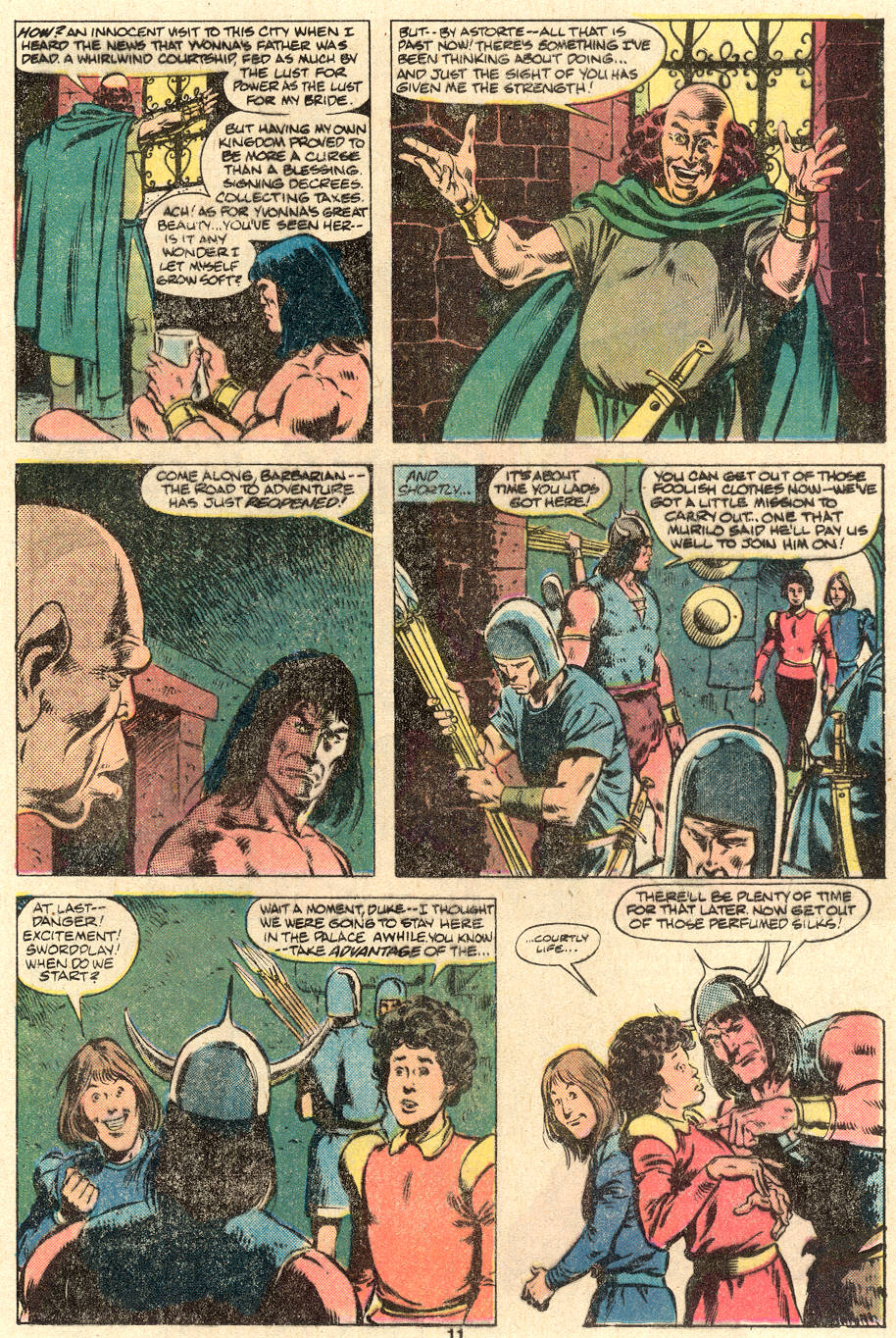 Conan the Barbarian (1970) Issue #123 #135 - English 9