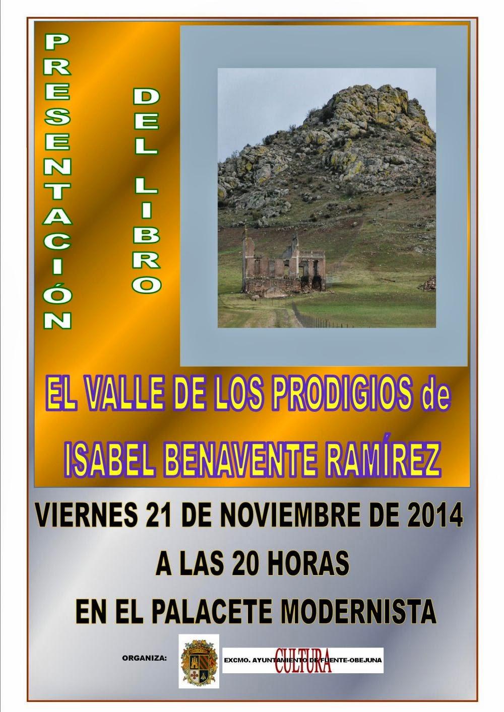 """Presentación del Libro """" El Valle de los Prodigios """""""