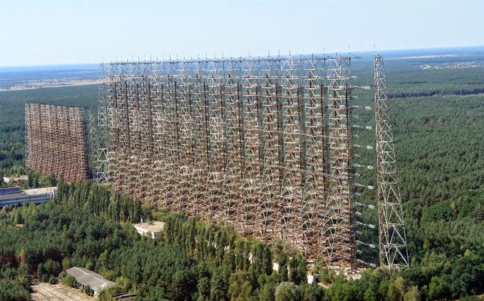 7 megaestructuras del antigua URSS abandonadas Pripyat+ucrania