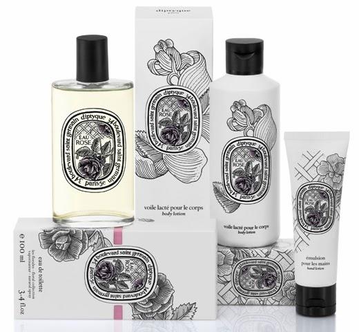 Diptyque, Eau Rose, Diptyque Eau Rose, rose, bath, hand lotion, perfume, toiletries