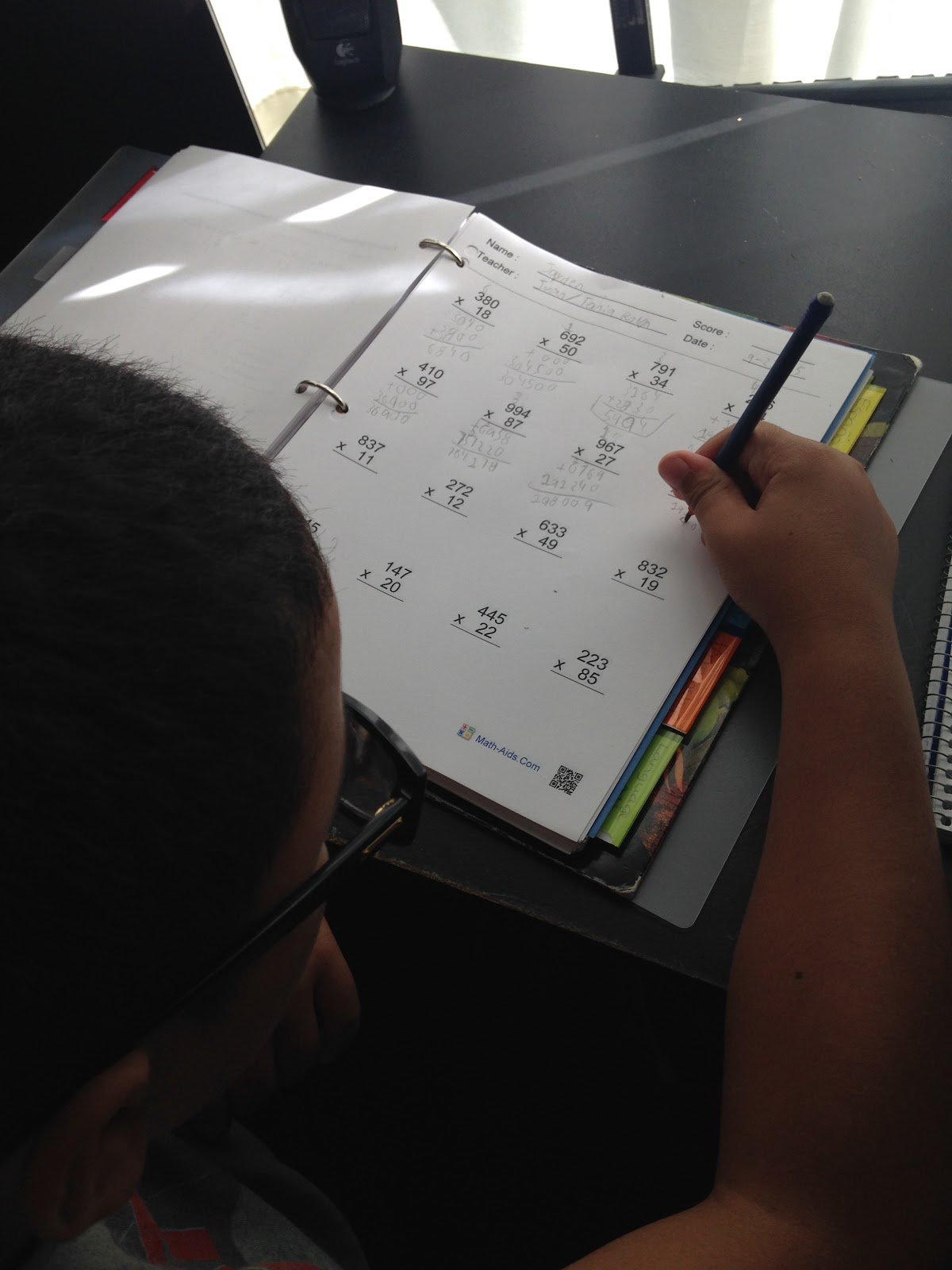 worksheet. Multiplication Worksheets Math Aids. Carlos Lomas ...