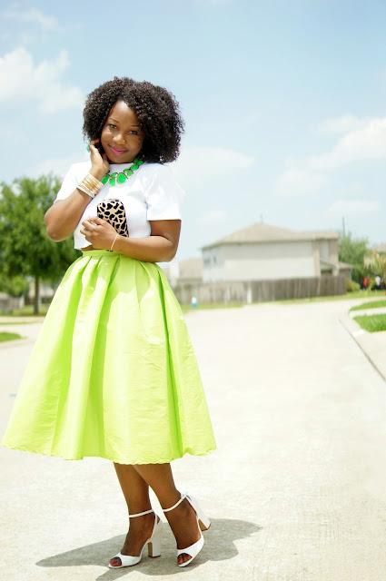 midi skirts and prints