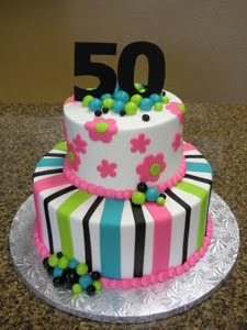 Birthday Cakes Images For 50 Year Old Woman : Special Day Cakes: Best 50th Birthday Cakes