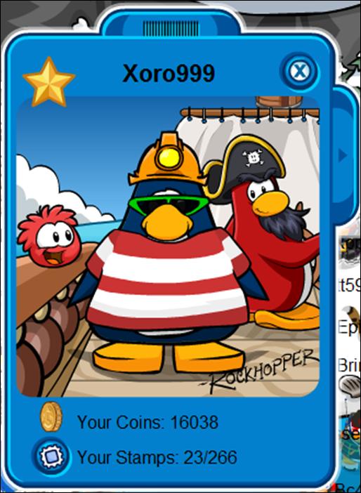how to meet rockhopper in club penguin