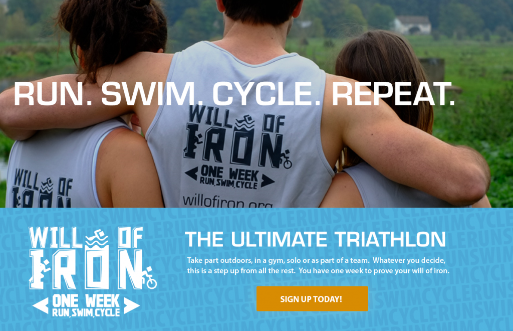 Willow Foundation Will Of Iron Triathlon