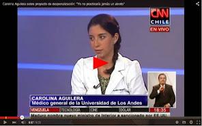 """Carolina Aguilera, Médico general, """"Yo no practicaría jamás un aborto"""""""