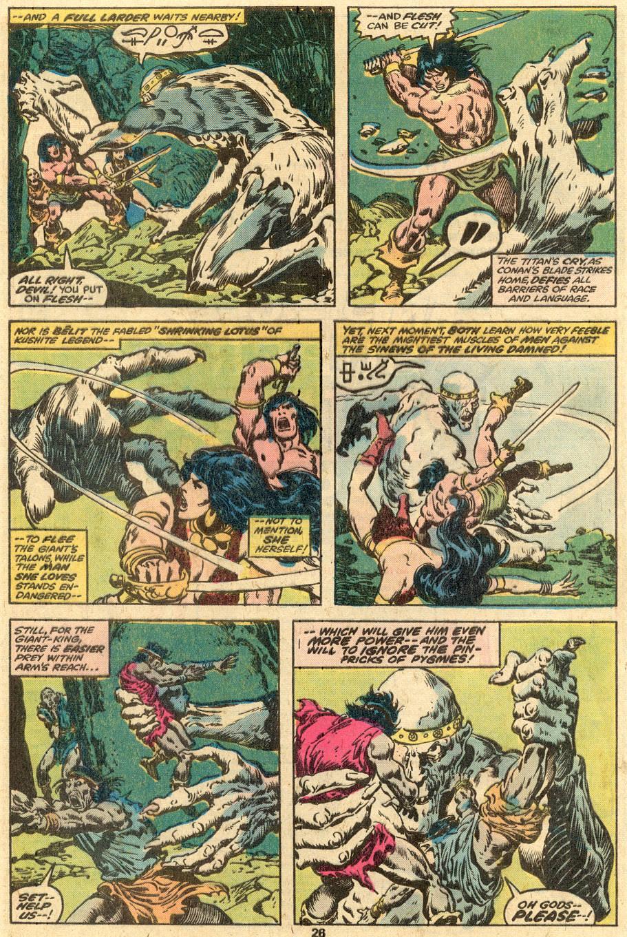 Conan the Barbarian (1970) Issue #90 #102 - English 16