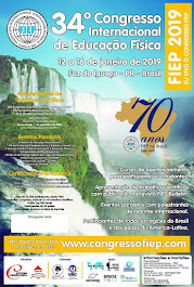 34º Congresso Internacional de Educação Física – FIEP 2019.
