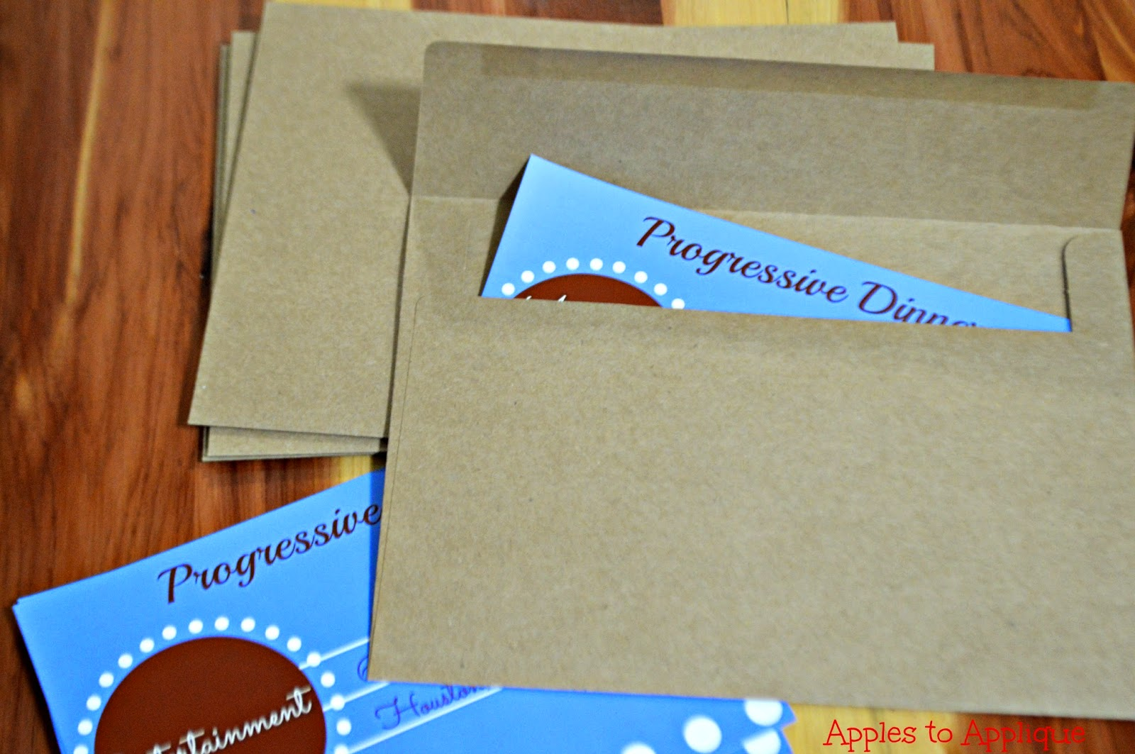 Progressive Dinner Date {with free printables} | Apples to Applique #datenight #dateideas