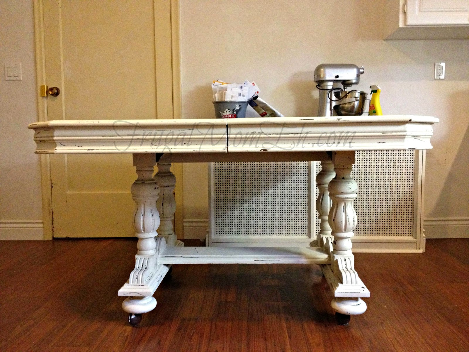diy distressed table - Distressed Dining Table