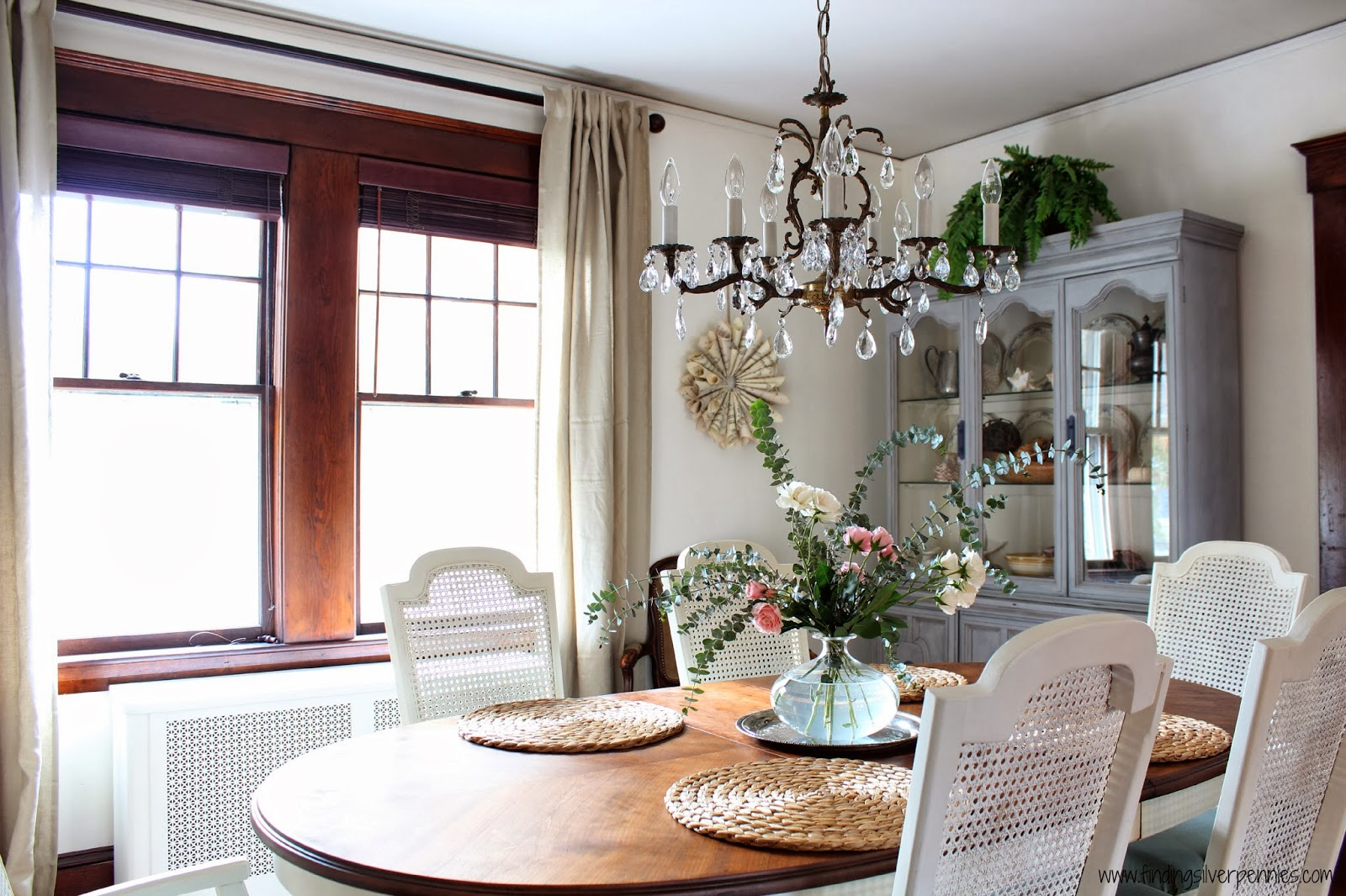 Dining Room Reveal - Designing on a Dime - Finding Silver Pennies