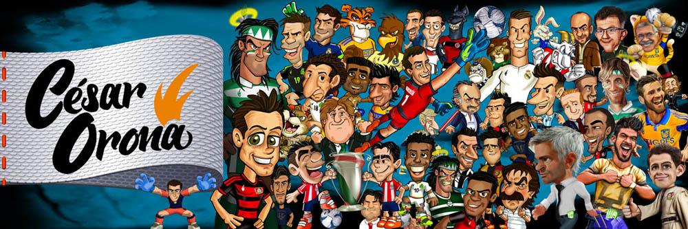 Caricaturas Futbol y más...
