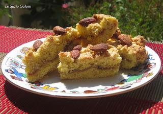 torta sbrisolona con marmellata di prugne