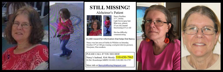 URGENT: Nancy Paulikas Is Still Missing!