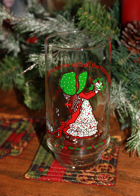 Holly Hobbie vintage glasses