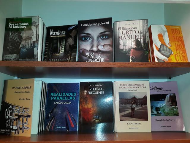 Mi libro en la Feria Internacional del Libro de Buenos Aires 2018