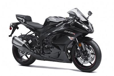 2012 Kawasaki Ninja ZX-6R Black Picture