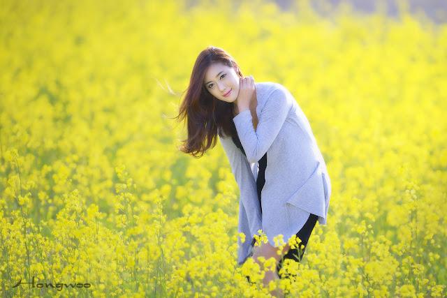 2 Another Kim Ha Yul Outdoor- very cute asian girl - girlcute4u.blogspot.com