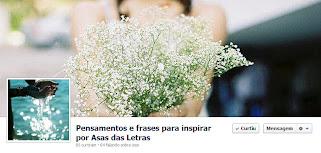 Página do ASAS no facebook - Venha!