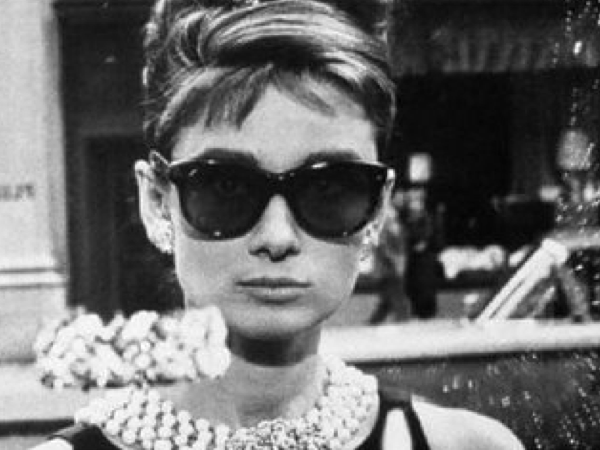 Audrey Hepburn And Her Iconic Vintage Glasses