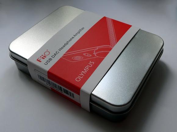 коробка от Fiio E10