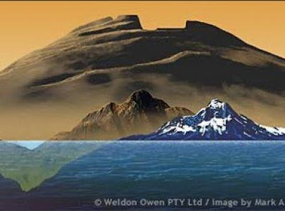 THA TALLEST, LARGEST MOUNTAIN and VOLCANO IN THE SOLAR SYSTEM OLYMPUS MONS