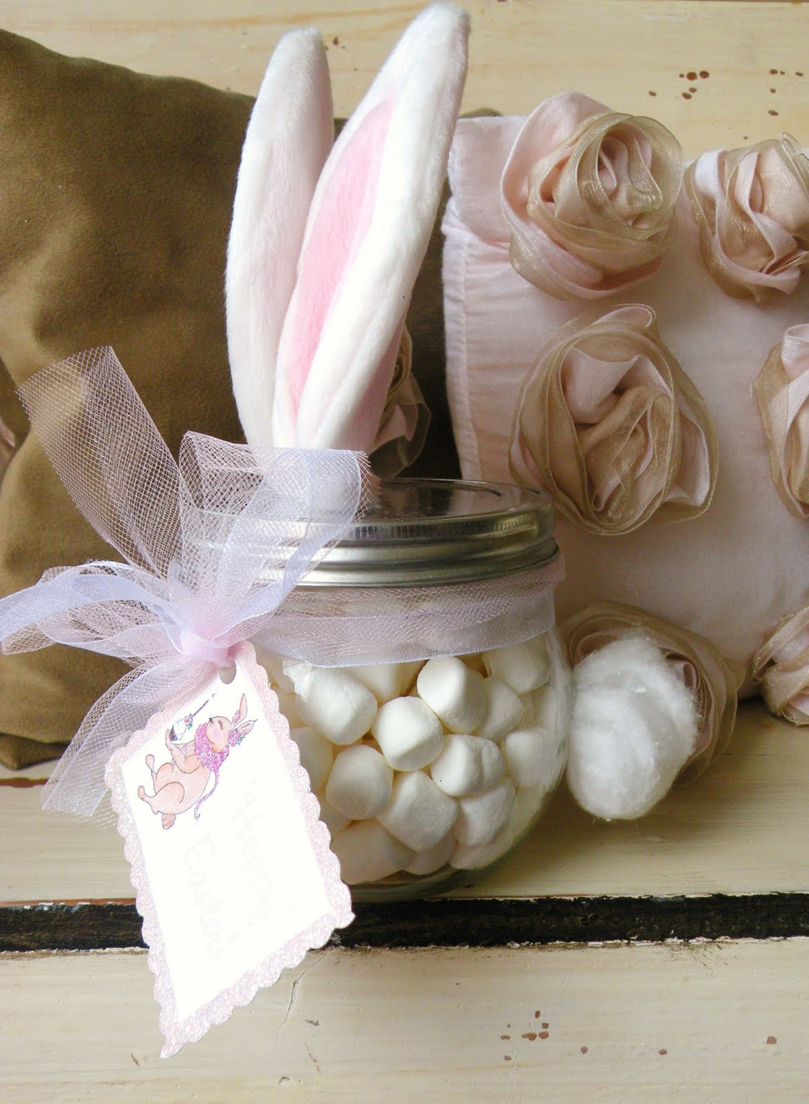 Easter bunny favor jar negle Image collections