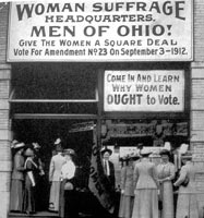 """Give WOMEN a Square DEAL"""