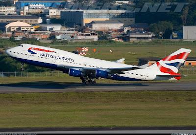Simulando o voo BA0247: de Heathrow a Guarulhos no Boeing 747  C-CIVW+GRU